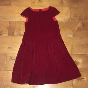 ❤️Busy Bee Girls Red Soft Formal Dress❤️